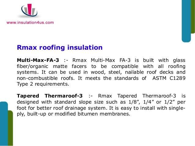 Rmax Polyiso Insulation Board For Renovation