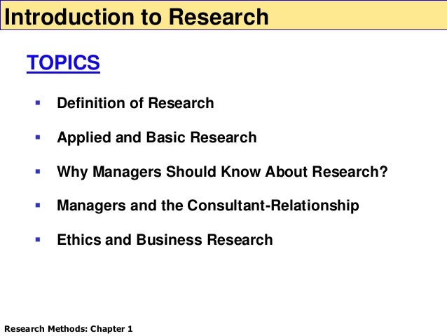 business research chapter 6 10 Qualitative research the purpose of qualitative research is to gather non-numerical data to help explain or develop a theory about a chapter 64 qualitative research.