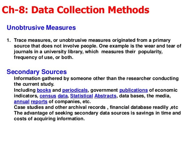 primary and secondary data essay