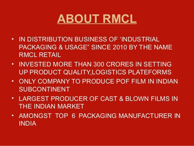 rmcl universe business plan