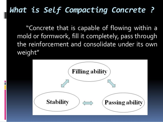 Self consolidating concrete history and facts