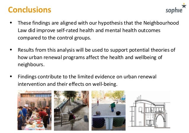 impacts of urban renewal on pyrmont Reasons for urban renewal in the pyrmont-ultimo area pyrmont was one of the busiest and urban renewal had a positive impact on the physical environment as.