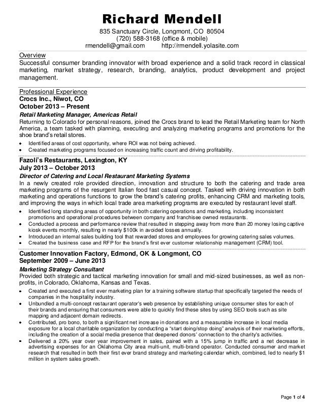 branding  u0026 innovation resume  0214