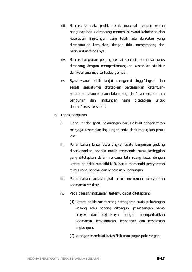 Peraturan Menteri Pekerjaan Umum Nomor Prtm Download Lengkap