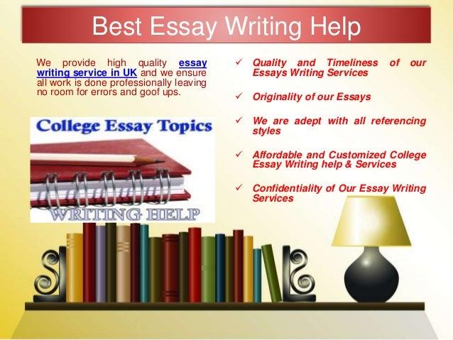 Original term papers