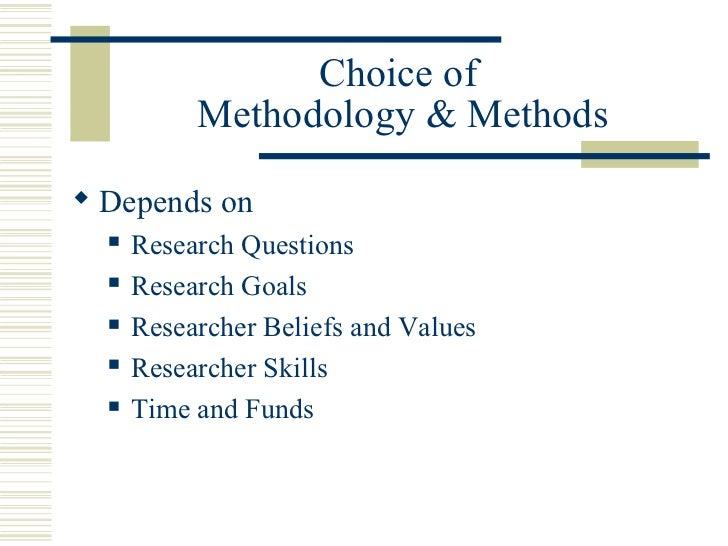 Understanding Research Methodology 3: Goals of Scientific Research