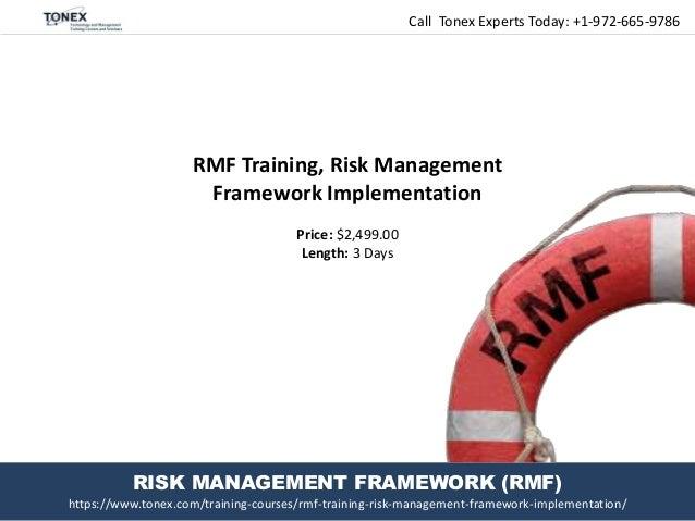 RMF Training, Risk Management Framework Implementation
