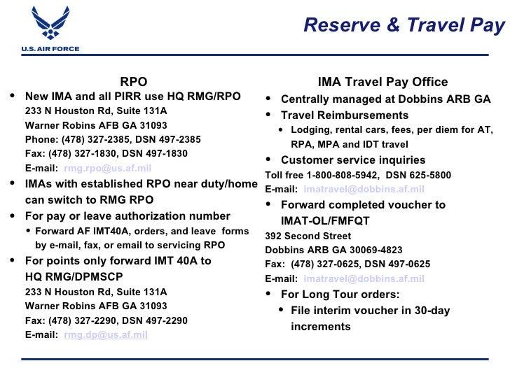 Dobbins Ima Travel Phone Number