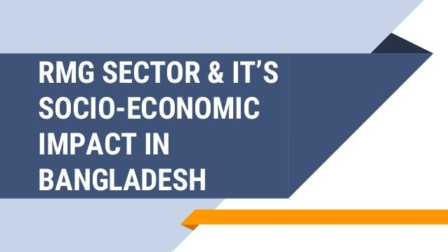 impact of rmg sector in bangladesh economy