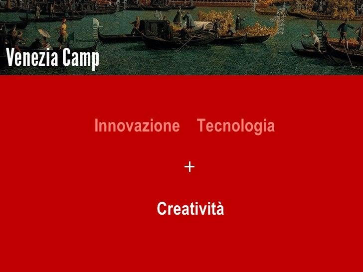 Innovazione E Turismo Veneziacamp