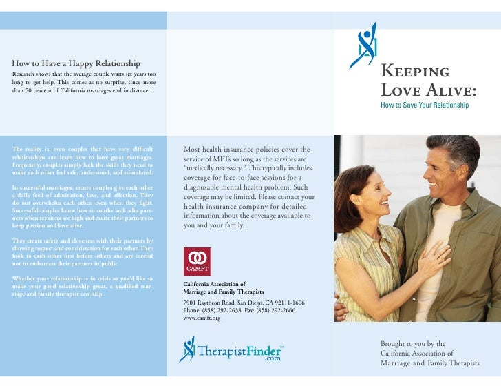 How to Have a Happy Relationship Research shows that the average couple waits six years too                               ...