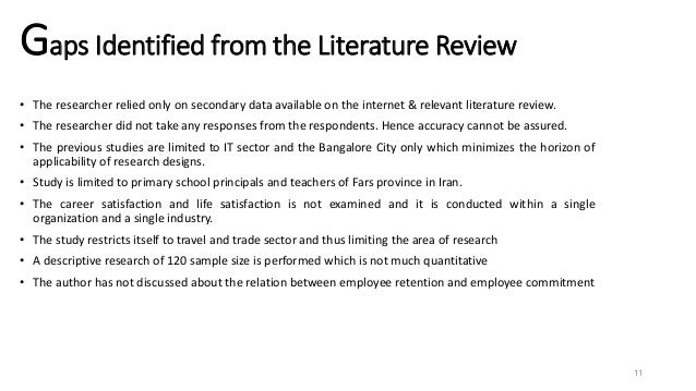 Important Factors to Consider When Writing a Literature Review