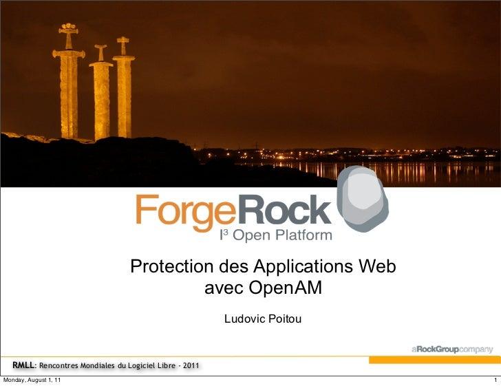 Protection des Applications Web                                            avec OpenAM                                    ...