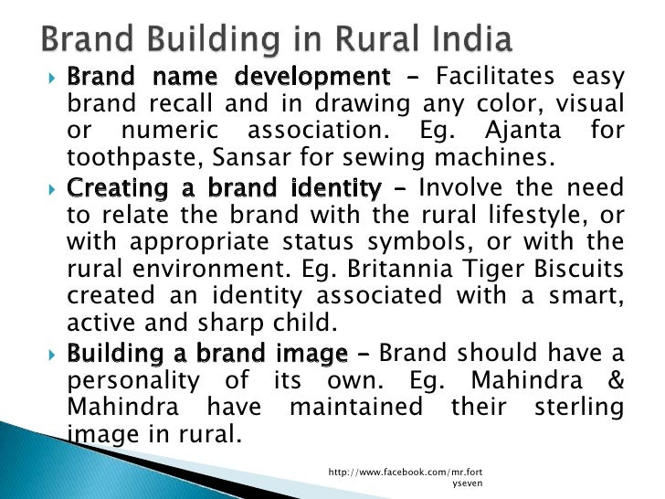    Brand name development – Facilitates easy    brand recall and in drawing any color, visual    or numeric association. ...