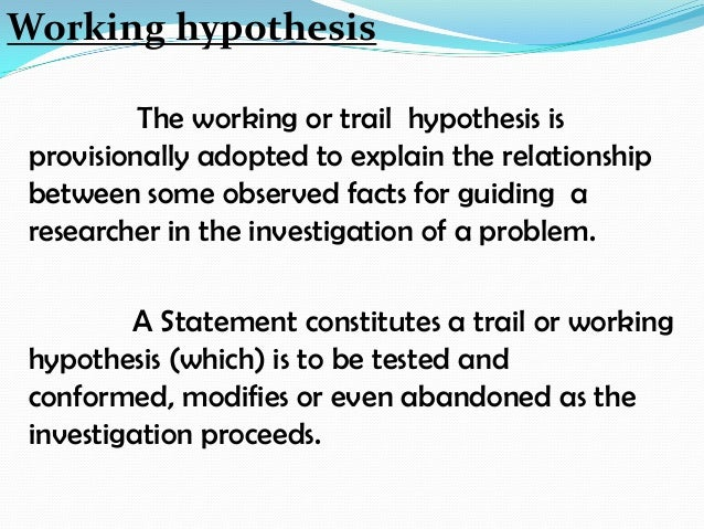 Ppt research: hypothesis powerpoint presentation, free download.