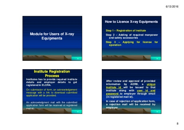 6/13/2016 8 Module for Users of XModule for Users of X--rayray EquipmentsEquipments 2929 How to Licence XHow to Licence X-...