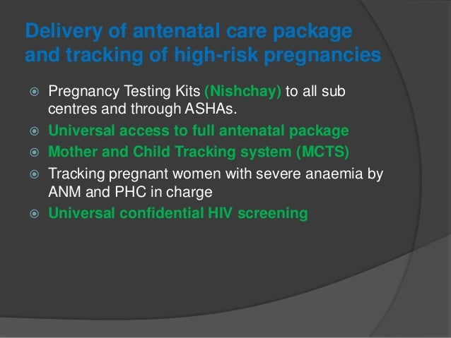 Skilled obstetric care and essential newborn care and resuscitation  Delivery points are to be prioritised.  Delivery po...