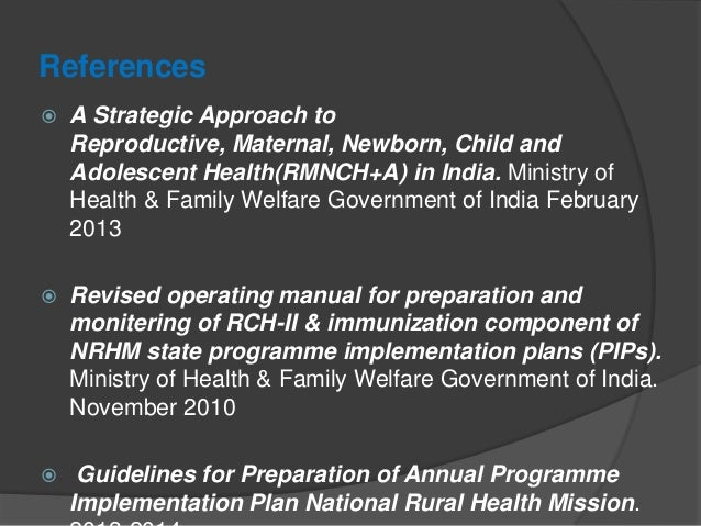 RMNCH+A- NEW INITIAVE OF GOVT OF INDIA