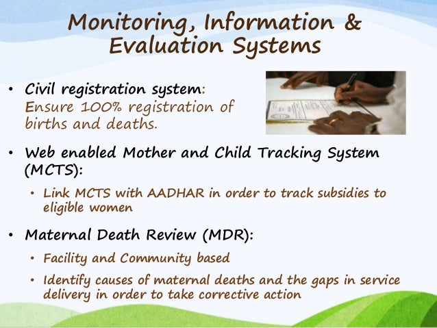 maternal health and child health systems assessment tool essay The women's and infant health (wih) program is committed to improving maternal and child health (mch) programs and enhancing the delivery of mch services at the national, state and local levels.