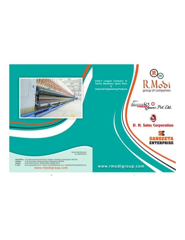 Paras Gear Pvt. Ltd., Textile Machinery & Spare Parts