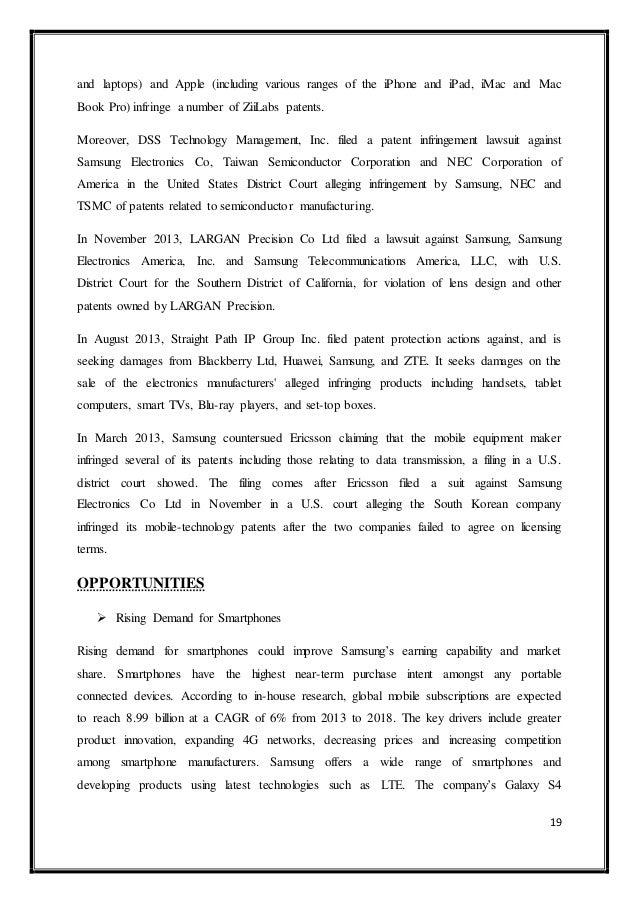 Research Methodology Of Samsung Electronics Co Ltd