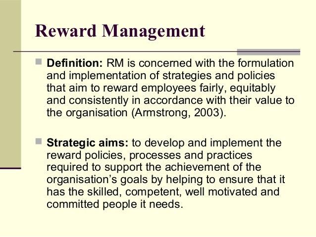 define reward