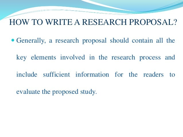 how to write research motivation