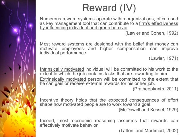 literature review of motivation and reward systems Organizational reward system has been found to play a critical role in enhancing  employee  employee motivation is the classic response on this matter this has  been  this chapter covers literature review related to the study it included a.