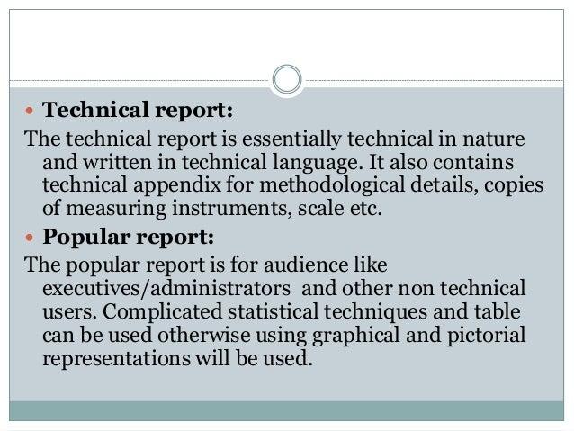 popular research report