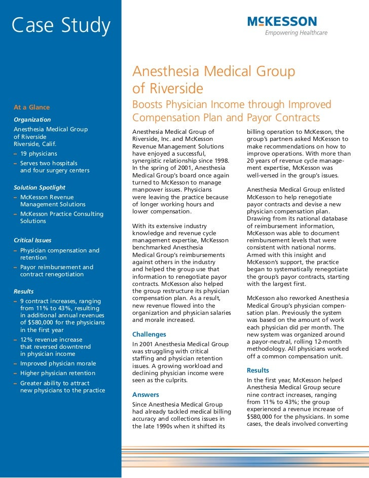 Anesthesia Medical Group of Riverside Boosts Physician