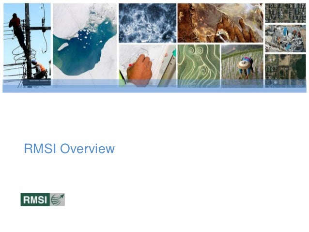 RMSI Overview