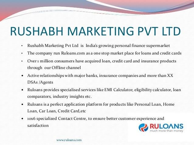 Ruloans India S Leading Loan Comparison Website