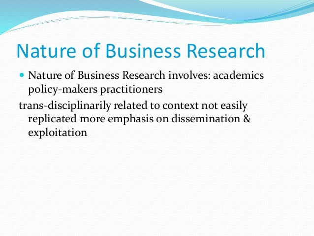 problems in research methodology There seems to be a tendency among academics to find many different ways of looking at research and thus create numerous categories and approaches to describing their.