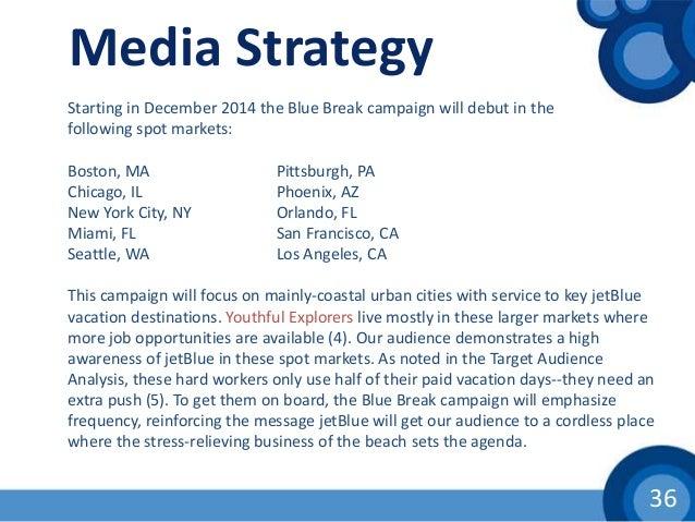 Jetblue strategic analysis