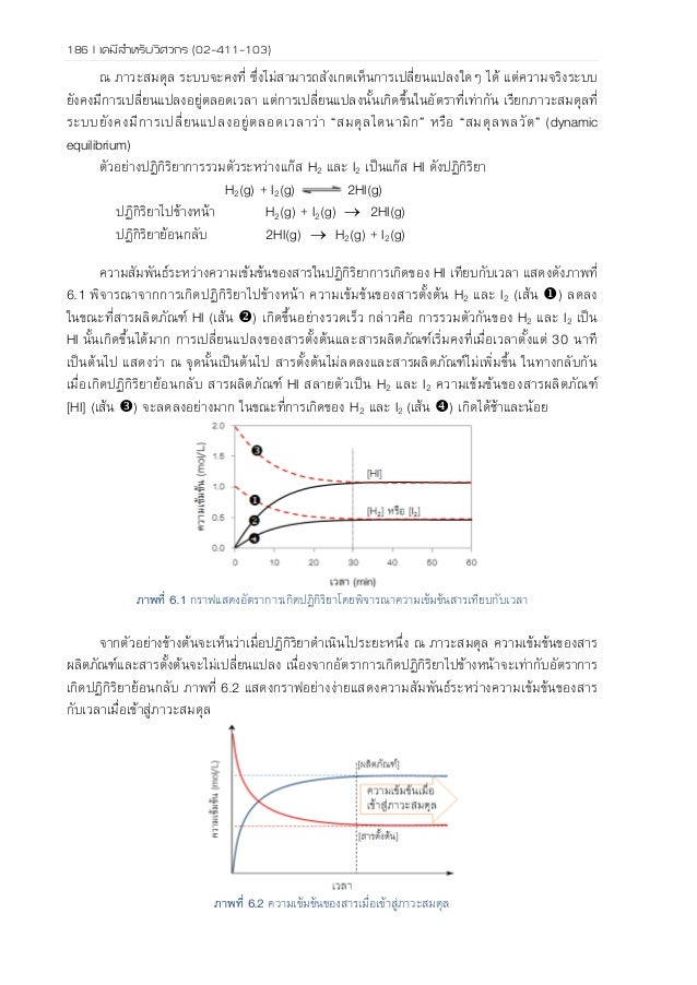 chemical equilibrium and kinetics We use several concepts from the subject of chemical kinetics to illustrate two key   the quasi-steady-state assumption (qssa) and the reaction equilibrium.