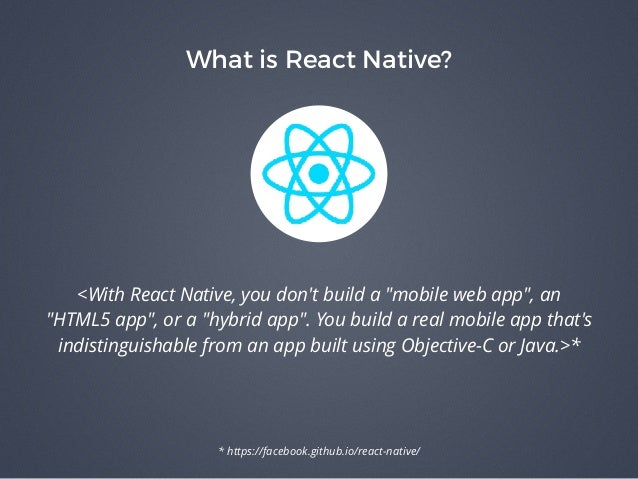 Building Apps with React Native - Lessons Learned