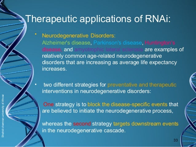 rna interference technology implications and applications