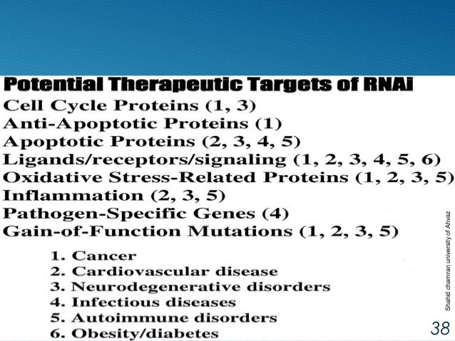 rna interference rnai as a therapeutic tool biology essay Rna interference (rnai 1) the first report of the use of rnai as a tool in biology the future of rna interference in biology and medicine.