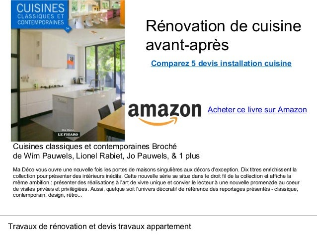 Renovation Cuisine Avant Apres