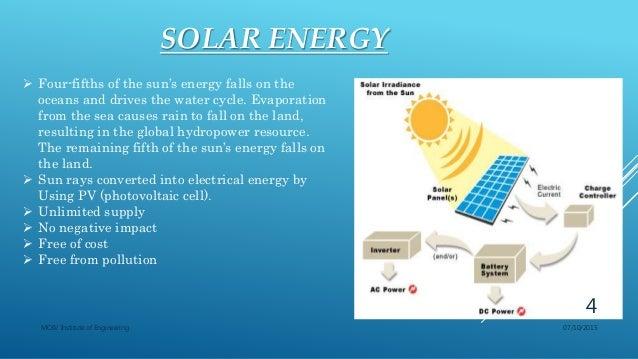 Soalr Energy Utilization