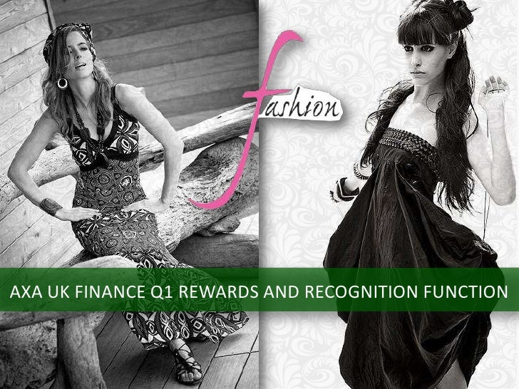 AXA UK FINANCE Q1 REWARDS AND RECOGNITION FUNCTION<br />