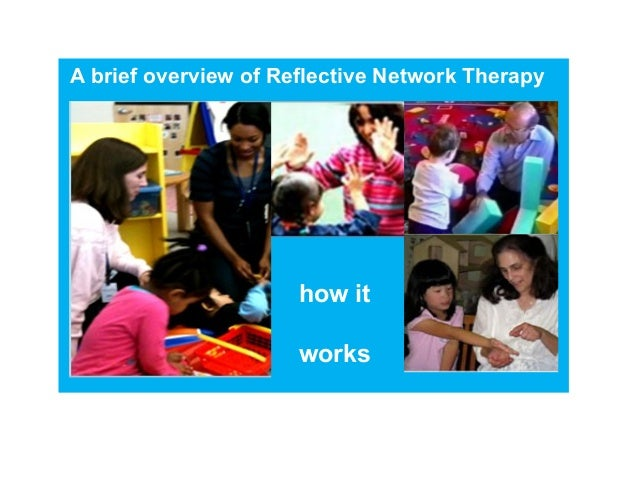 A brief overview of Reflective Network Therapy  how it  works