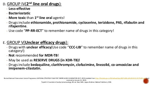 RNTCP guidelines for tuberculosis management: Extended version
