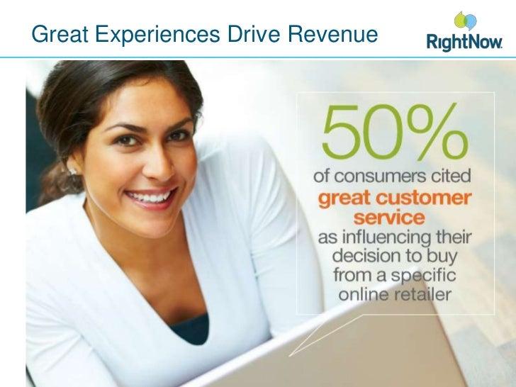 Great Experiences Drive Revenue<br />