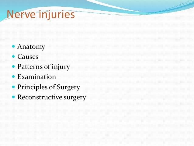 peripheral nerve injuries Slide 2