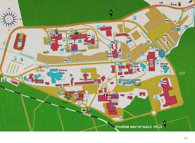 Baile Felix Oradea Romania - Oradea map
