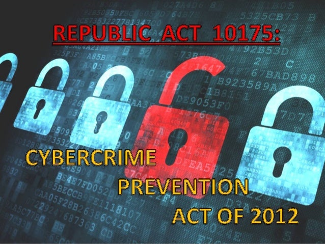 cybercrime law philippines ppt