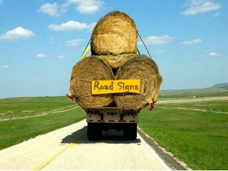 Road Signs Slide 1