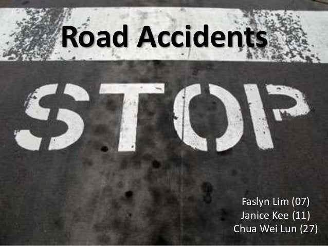 road accidents solution Reader jeffrey mindich, a senior news anchor at international community radio in taipei, writes: i just happened to be working on a story about traffic accidents while reading your march 10.