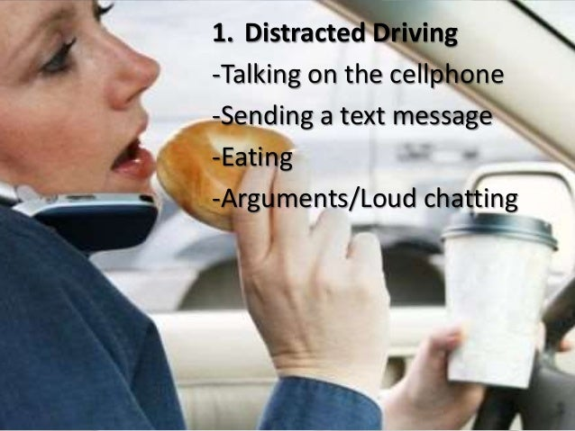 causes and effects of distracted driving